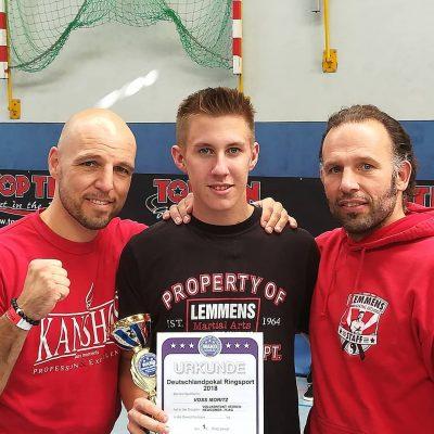 Sieger Newcomer Moritz Voss